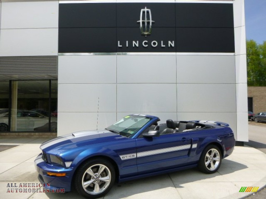 2007 ford mustang gt cs california special convertible in vista blue metallic 247300 all. Black Bedroom Furniture Sets. Home Design Ideas