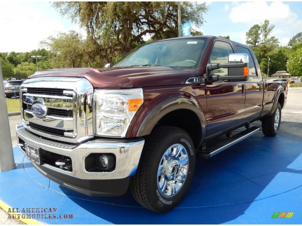 2015 ford f250 super duty lariat crew cab 4x4 in bronze fire a49981 all american automobiles. Black Bedroom Furniture Sets. Home Design Ideas