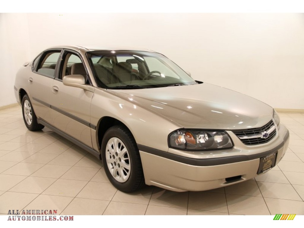 2002 Chevrolet Impala In Sandrift Metallic Photo 9