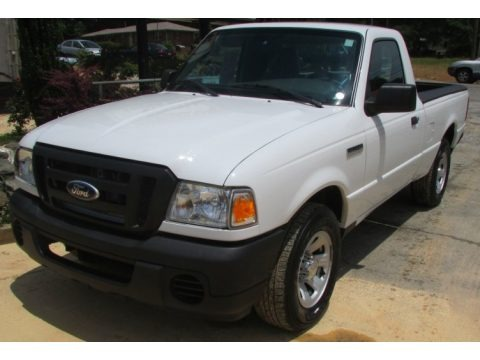 Oxford White 2010 Ford Ranger XL Regular Cab