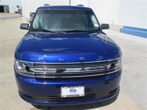Deep Impact Blue 2014 Ford Flex SE