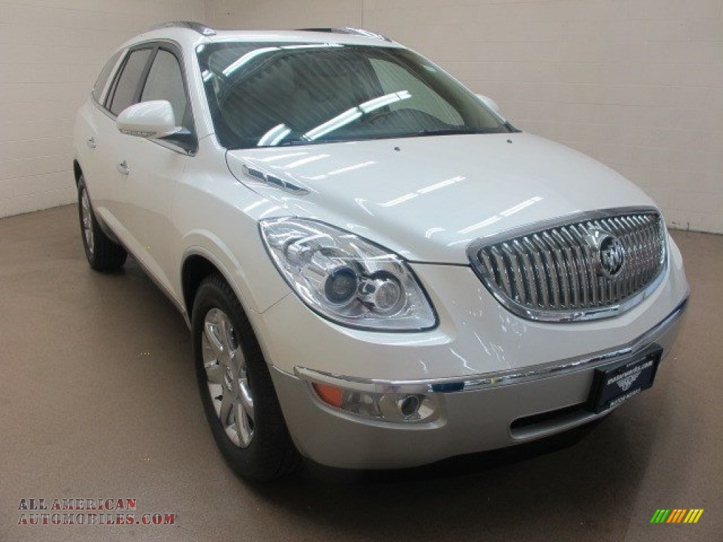 2009 buick enclave cxl awd in white diamond tricoat. Black Bedroom Furniture Sets. Home Design Ideas