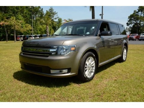 Mineral Gray Metallic 2013 Ford Flex SEL