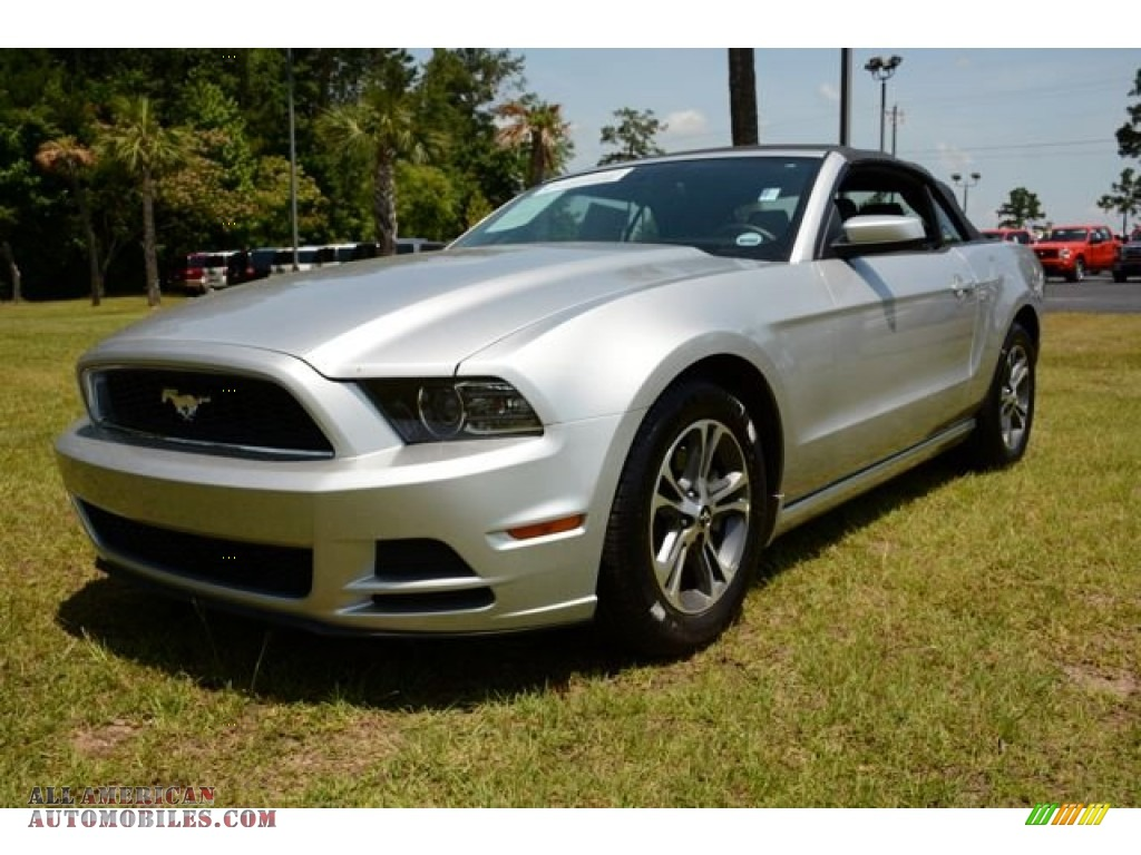 2014 ford mustang v6 premium convertible in ingot silver photo 17 262268 all american. Black Bedroom Furniture Sets. Home Design Ideas