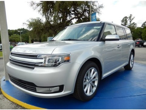 Ingot Silver 2014 Ford Flex Limited