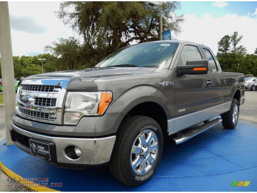 2014 ford f150 xlt supercab in sterling grey e61991 all american automobiles buy american. Black Bedroom Furniture Sets. Home Design Ideas