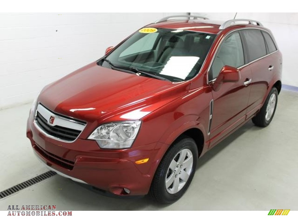 2009 Saturn Vue Xr V6 In Ruby Red 570762 All American