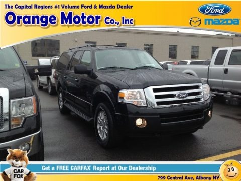 Tuxedo Black 2014 Ford Expedition EL XLT 4x4