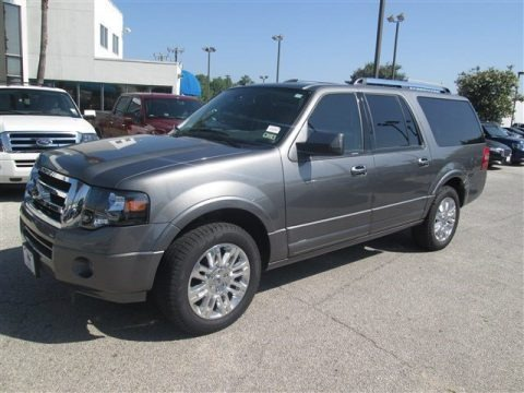 Sterling Gray 2014 Ford Expedition EL Limited
