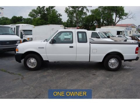 Oxford White 2006 Ford Ranger XL SuperCab