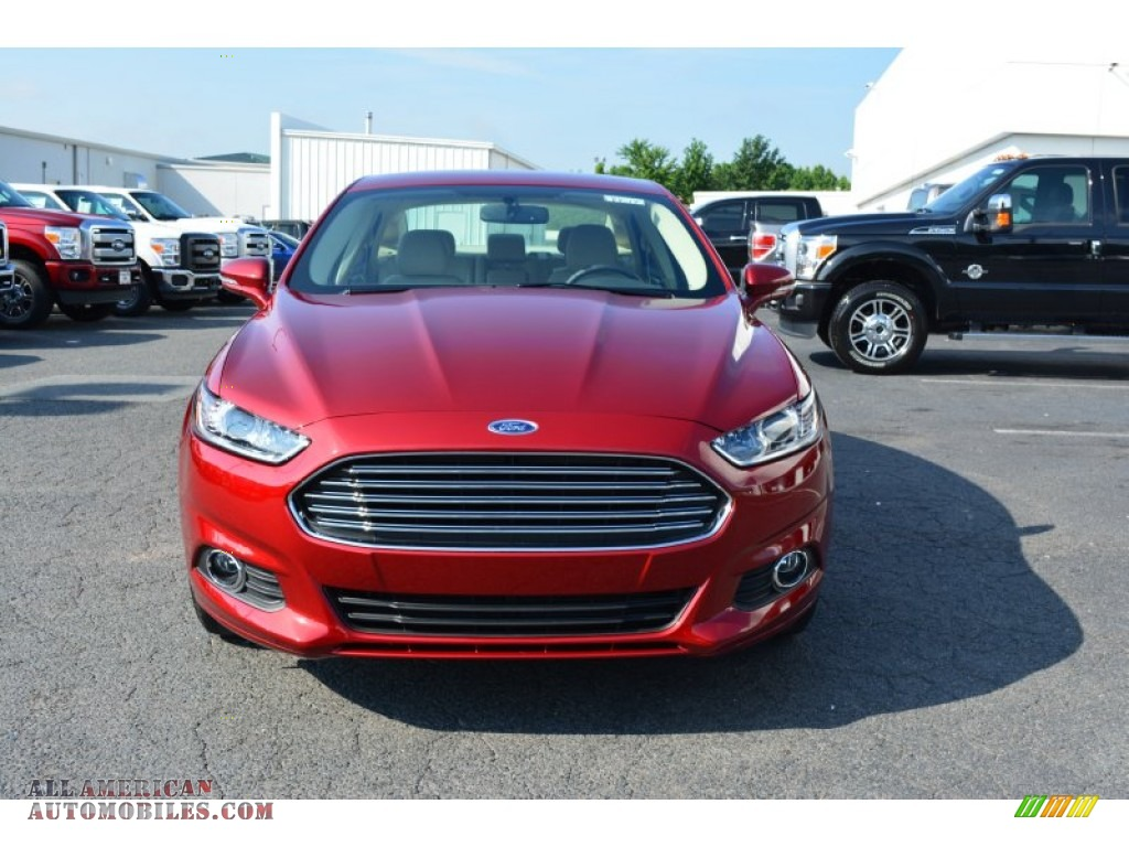 2014 ford fusion se ecoboost in ruby red photo 4 363330 all american automobiles buy. Black Bedroom Furniture Sets. Home Design Ideas