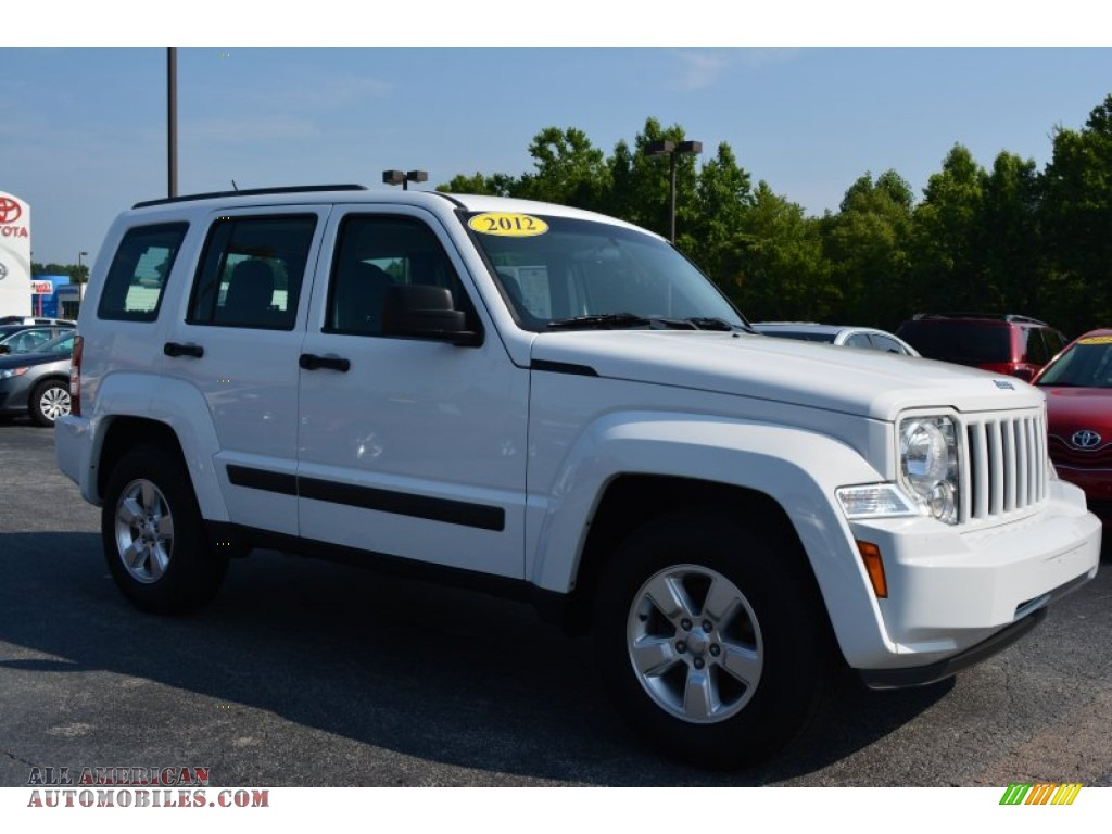 2012 jeep liberty sport in bright white 122085 all. Black Bedroom Furniture Sets. Home Design Ideas