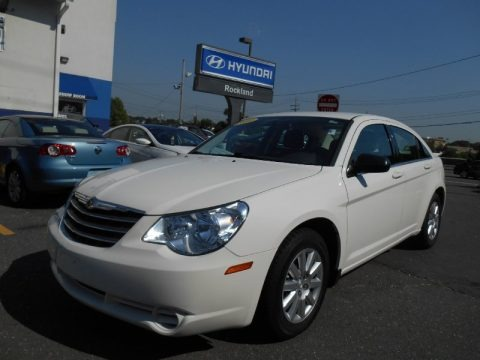 Stone White 2010 Chrysler Sebring Touring Sedan