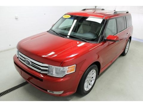 Red Candy Metallic 2011 Ford Flex SEL AWD