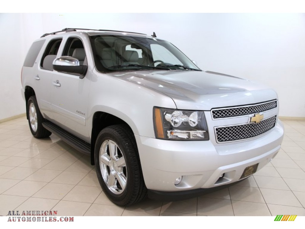 2013 chevrolet tahoe ltz 4x4 in silver ice metallic 218981 all american automobiles buy. Black Bedroom Furniture Sets. Home Design Ideas