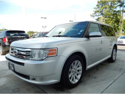 Ingot Silver Metallic 2010 Ford Flex SEL AWD