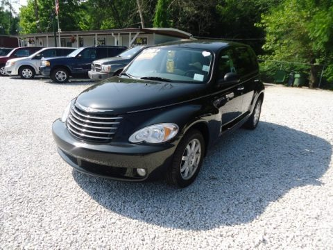 Brilliant Black Crystal Pearl 2008 Chrysler PT Cruiser Touring