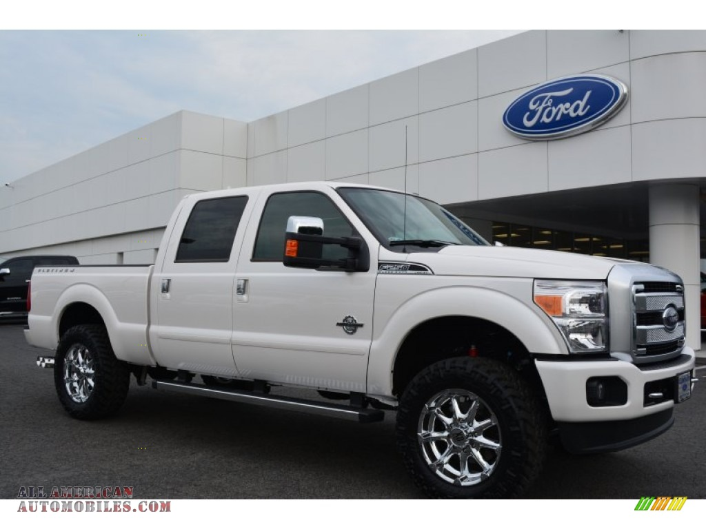 2015 ford f250 super duty lariat crew cab 4x4 in white platinum photo 8 a37708 all american. Black Bedroom Furniture Sets. Home Design Ideas