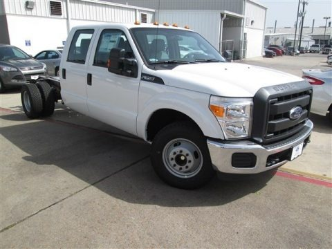 Oxford White 2015 Ford F350 Super Duty XL Super Cab DRW