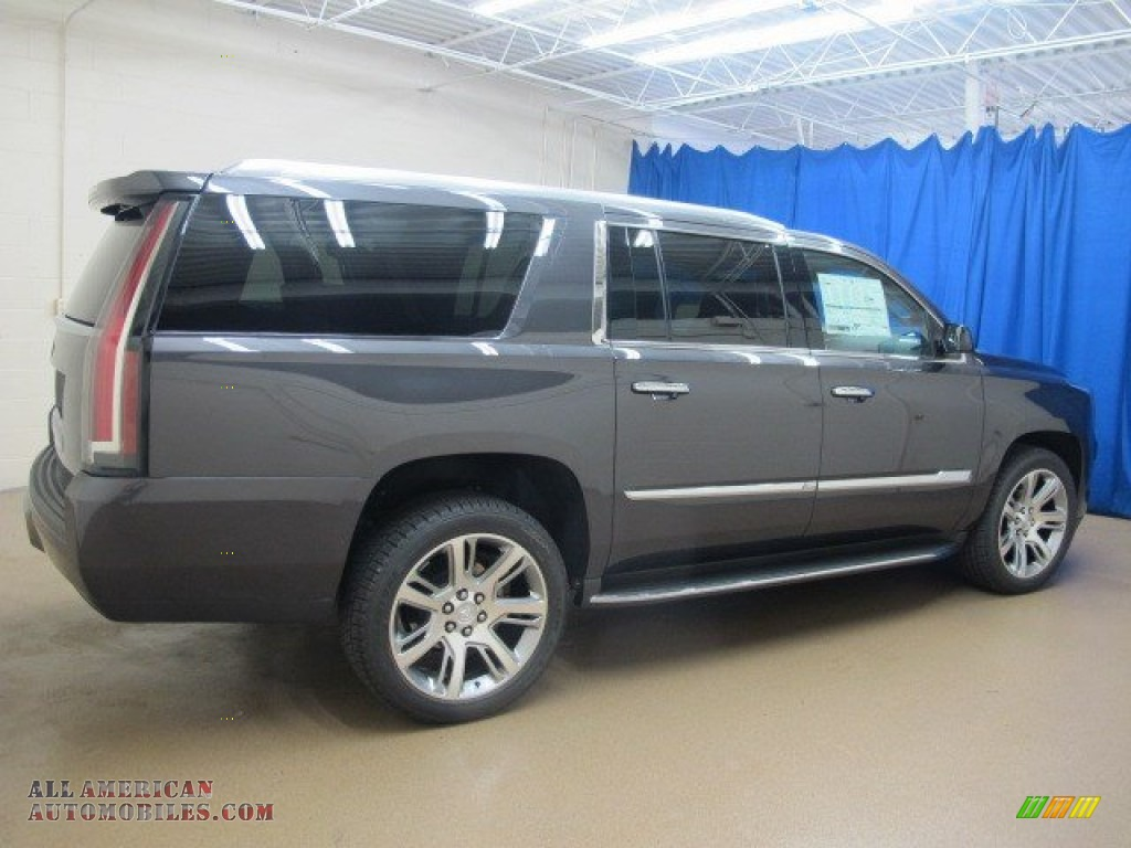 2015 Cadillac Escalade Esv Luxury 4wd In Dark Granite