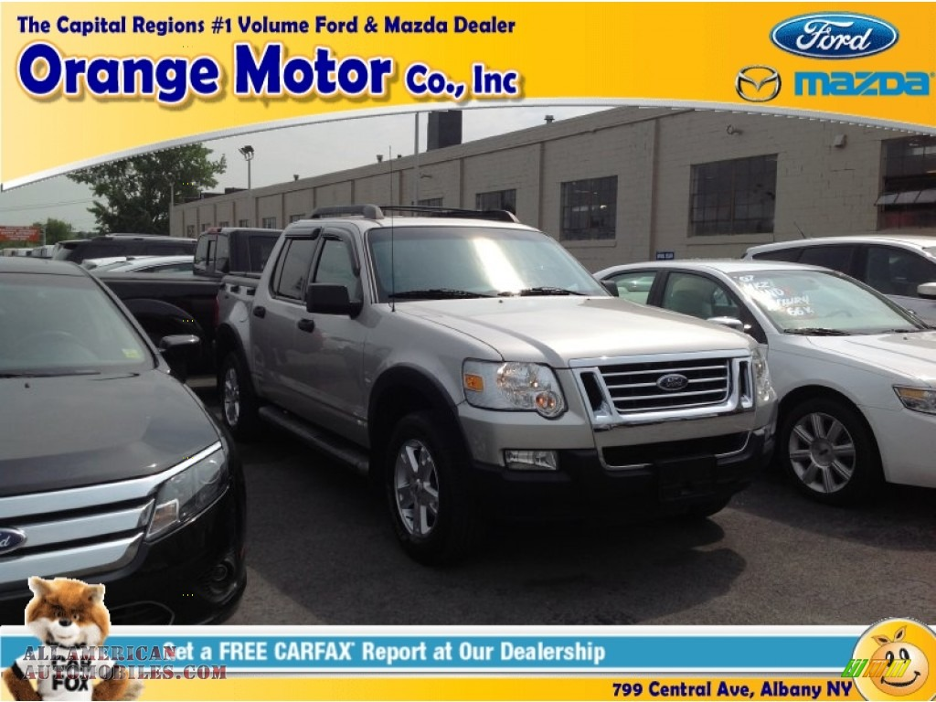 2007 ford explorer sport trac xlt 4x4 in silver birch for Orange motors albany new york