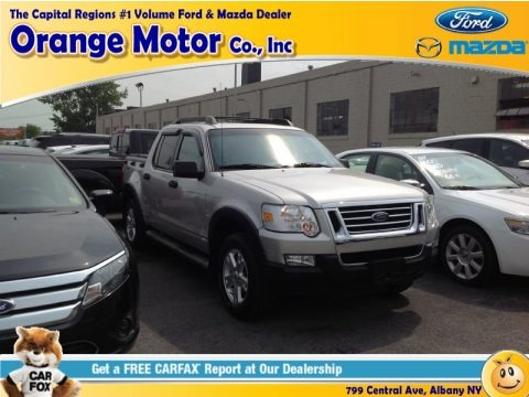 Silver Birch Metallic 2007 Ford Explorer Sport Trac XLT 4x4