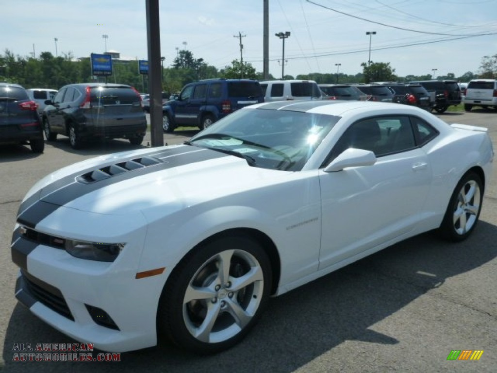 2015 chevrolet camaro ss rs coupe in summit white 105514 all american automobiles buy. Black Bedroom Furniture Sets. Home Design Ideas