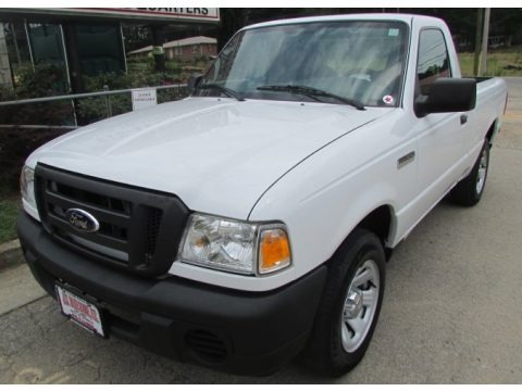 Oxford White 2009 Ford Ranger XL Regular Cab