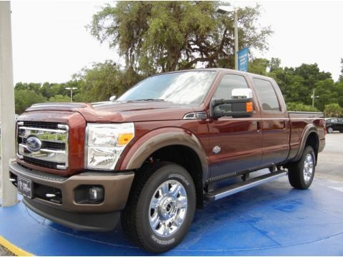 Bronze Fire 2015 Ford F350 Super Duty King Ranch Crew Cab 4x4