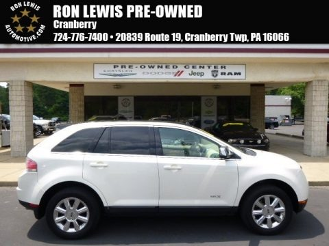Creme Brulee Metallic 2007 Lincoln MKX AWD
