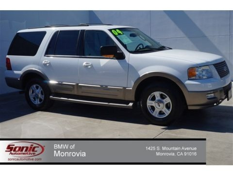 Oxford White 2004 Ford Expedition Eddie Bauer