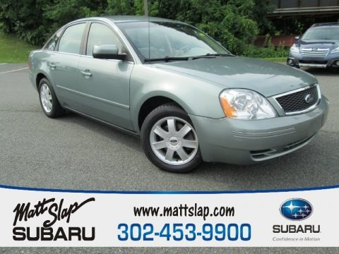 Titanium Green Metallic 2006 Ford Five Hundred SE AWD