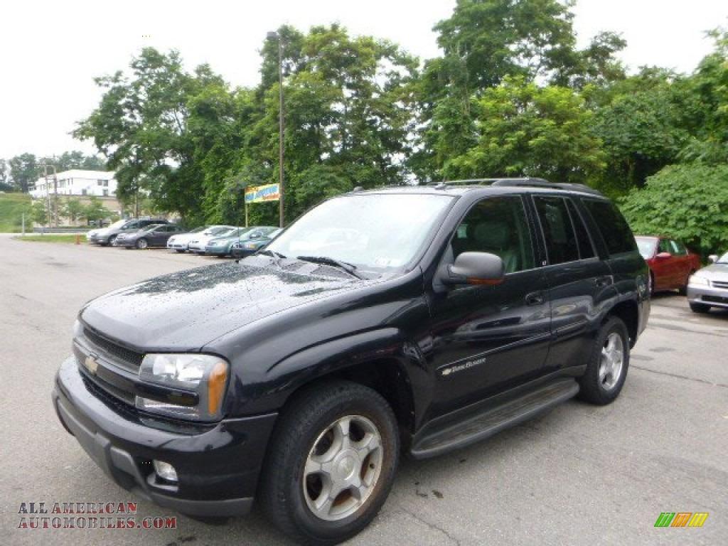 2004 Chevrolet TrailBlazer LS 4x4 in Black - 402201   All ...