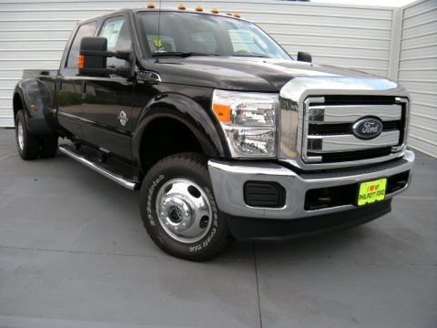 Tuxedo Black 2015 Ford F350 Super Duty XLT Crew Cab 4x4 DRW