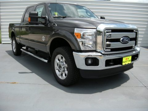 Magnetic 2015 Ford F250 Super Duty Lariat Crew Cab 4x4