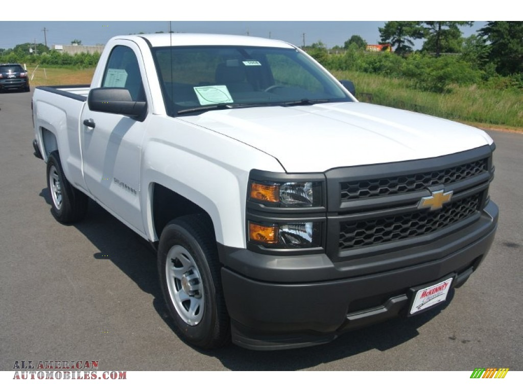 2014 chevrolet silverado 1500 wt regular cab in summit white 353330 all american automobiles. Black Bedroom Furniture Sets. Home Design Ideas