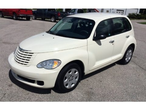 Cool Vanilla White 2008 Chrysler PT Cruiser LX