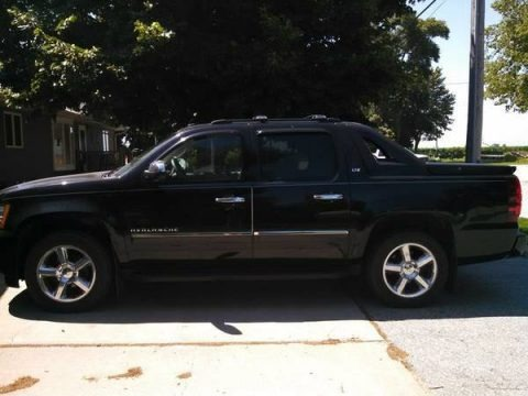 Black 2011 Chevrolet Avalanche LTZ 4x4