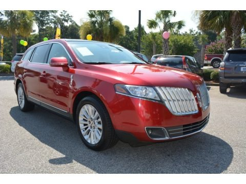 Red Candy Metallic 2010 Lincoln MKT FWD