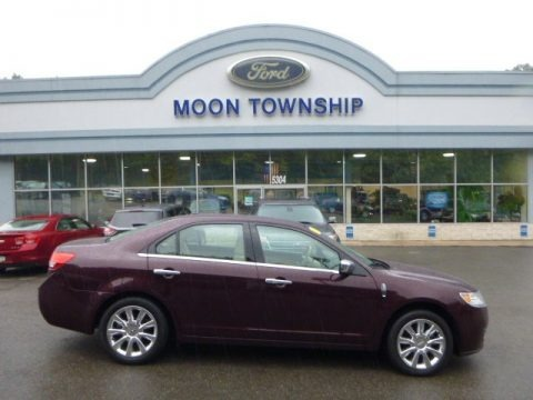 Bordeaux Reserve Metallic 2011 Lincoln MKZ AWD