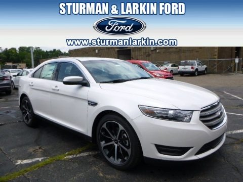 White Platinum Metallic 2015 Ford Taurus SEL AWD