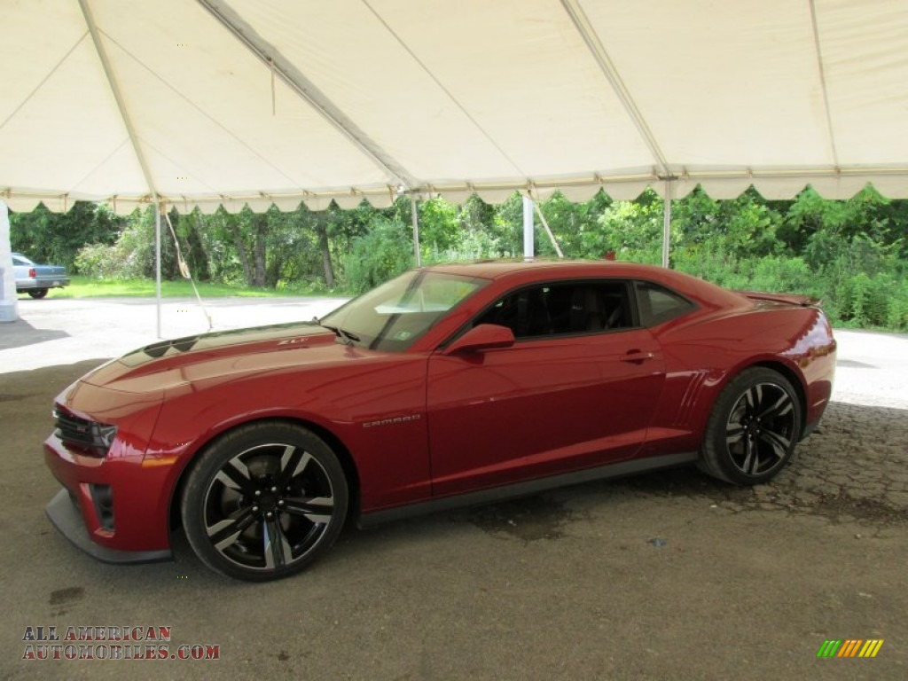 2014 chevrolet camaro zl1 coupe in red rock metallic 802393 all american automobiles buy. Black Bedroom Furniture Sets. Home Design Ideas
