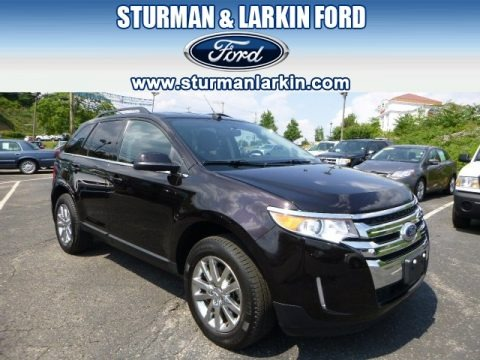 Kodiak Brown Metallic 2013 Ford Edge Limited AWD