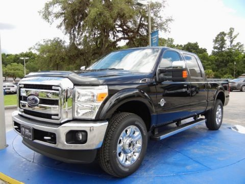 Tuxedo Black 2015 Ford F250 Super Duty Lariat Crew Cab 4x4