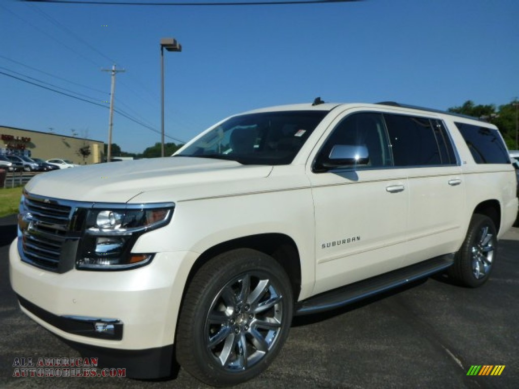 Pine Belt Chevy >> 2015 Chevrolet Suburban LTZ 4WD in White Diamond Tricoat - 141209 | All American Automobiles ...