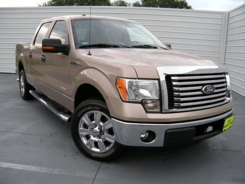Pale Adobe Metallic 2011 Ford F150 XLT SuperCrew