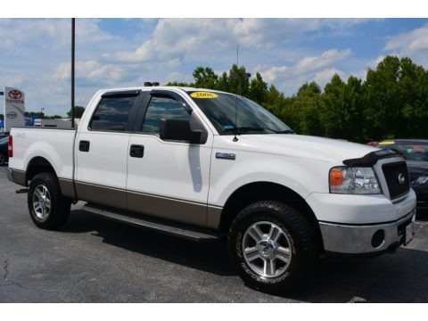 Oxford White 2006 Ford F150 XLT SuperCrew 4x4