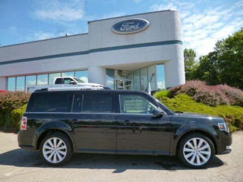 Tuxedo Black Metallic 2013 Ford Flex SEL AWD