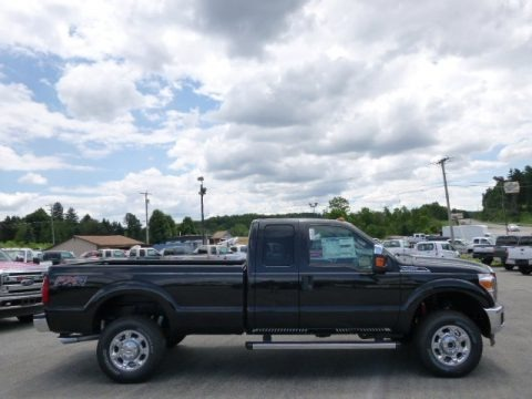 Tuxedo Black 2015 Ford F250 Super Duty XLT Super Cab 4x4