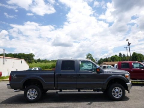 Magnetic 2015 Ford F250 Super Duty XLT Crew Cab 4x4
